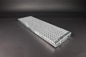 Profilrost Treppenstufe rotec R13 feuerverzinkt