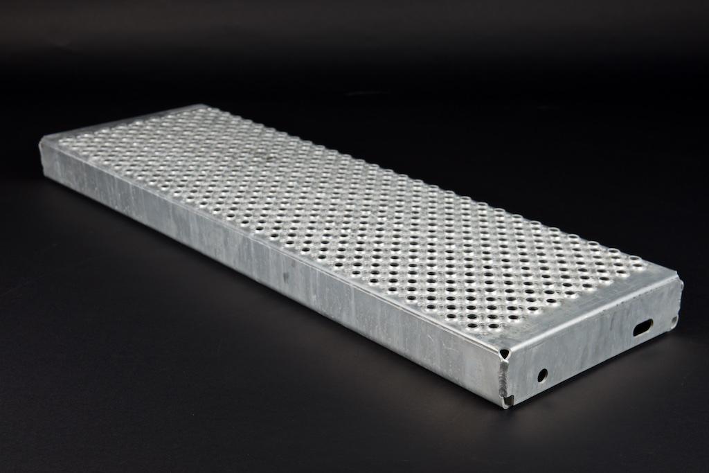 Profilrost Treppenstufe rotec R13 aus Aluminium