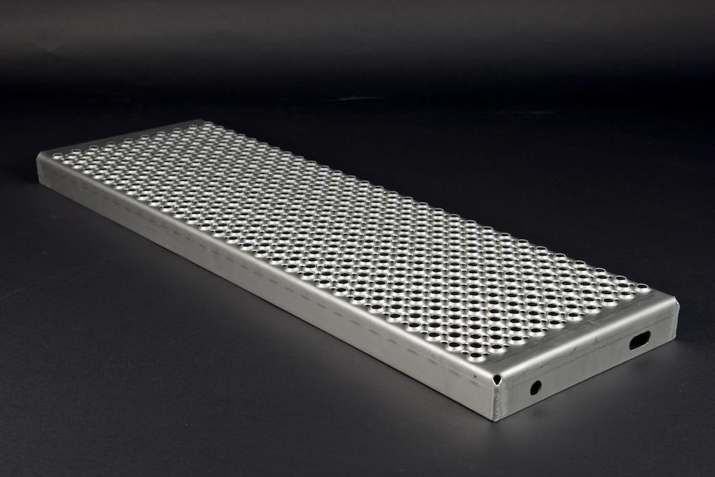 Profilrost Treppenstufe rotec R13 aus Edelstahl