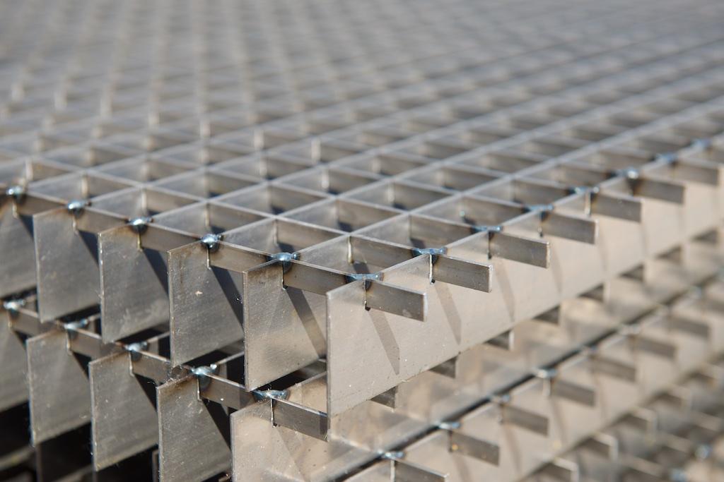 rotec Gitterrostmatten aus Stahl und Edelstahl ohne Einfassung