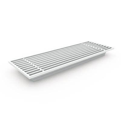 Lüftungsgitter - Bodengitter AG300 für Fußbodenmontage