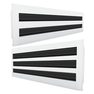 Lüftungsgitter - Schlitzdurchlass SE600 für die Deckenmontage
