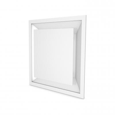 Deckenluftdurchlass CS400P für die Abluft als Deckenmontage