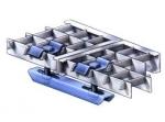 Doppelklammer für Gitterroste<br>Für Maschenweite 31/31 mm - Stahl feuerverzinkt