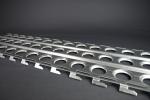 Bodenblech / Sandblech aus Stahl St 44,2 3,0 x 420 x 1520 mm, feuerverzinkt