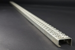 Leitersprosse Rund, Edelstahl 1.4571 1980x55x30x2 mm