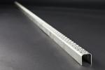 Leitersprosse Rund, Edelstahl 1.4571 2000x30x30x2 mm