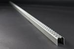 Leitersprosse Rund, Stahl roh 2000x30x30x2 mm