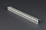 Leitersprosse Rund, Stahl roh 318x30x30x2 mm