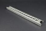 Leitersprosse Rund, Stahl roh 495x55x30x2 mm