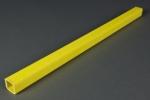<b>SONDERPOSTEN</b><br><br>GFK-Leitersprosse mit pultrierter Trittfläche - ca. 30 x 28 x 495 mm (TxHxL)