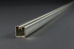 Einfassprofil für Wellengitter, Typ 2, Stahl 3000 × 30 × 30 mm, Schlitzbreite 5,7 mm